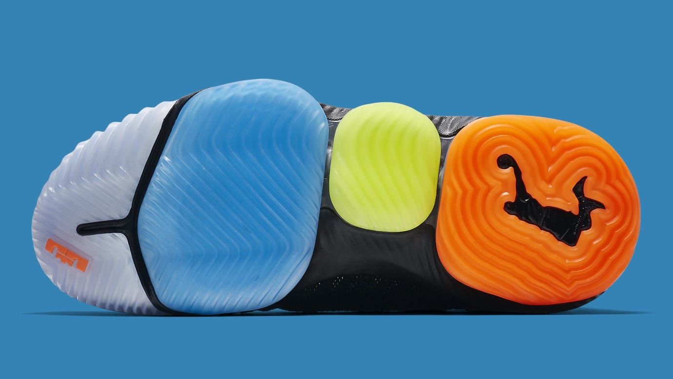 new concept 29d06 a6424 Image via Nike Nike LeBron 16 I Promise Release Date AO2595-004 Sole