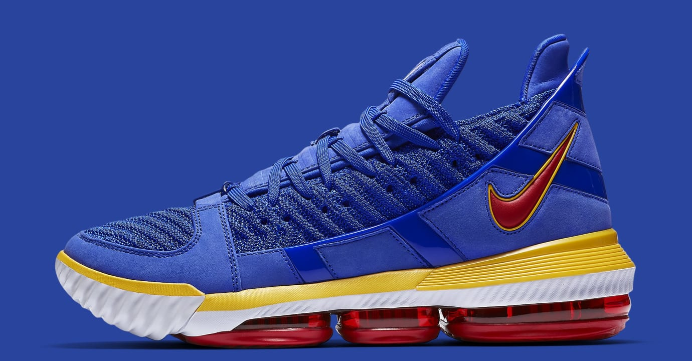 Nike LeBron 16 'SuperBron Blue' CD2451-400 Lateral