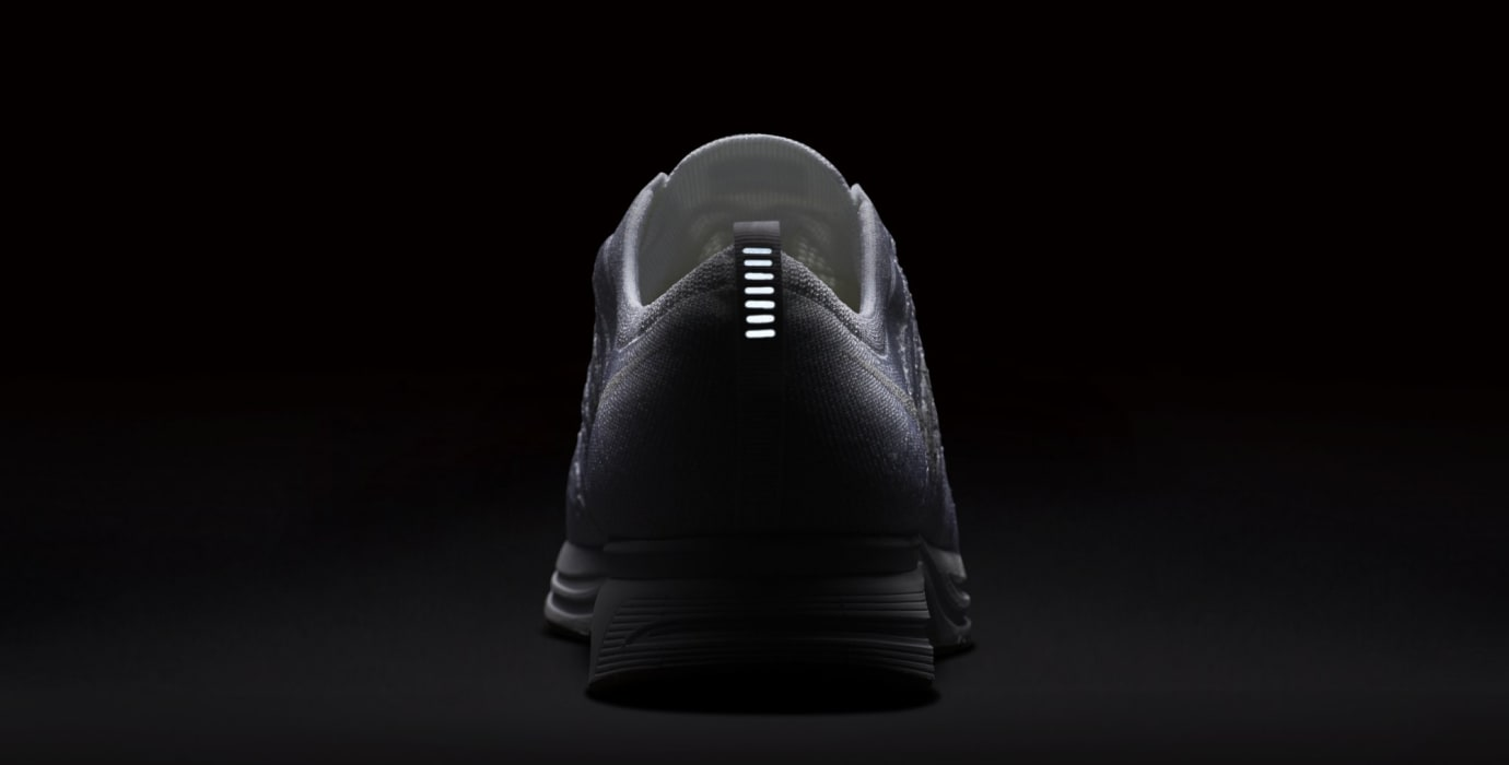 4af1ee5feffdbb Image via Nike Nike Flyknit Trainer  White Gum  AH8396-102 (Reflective)