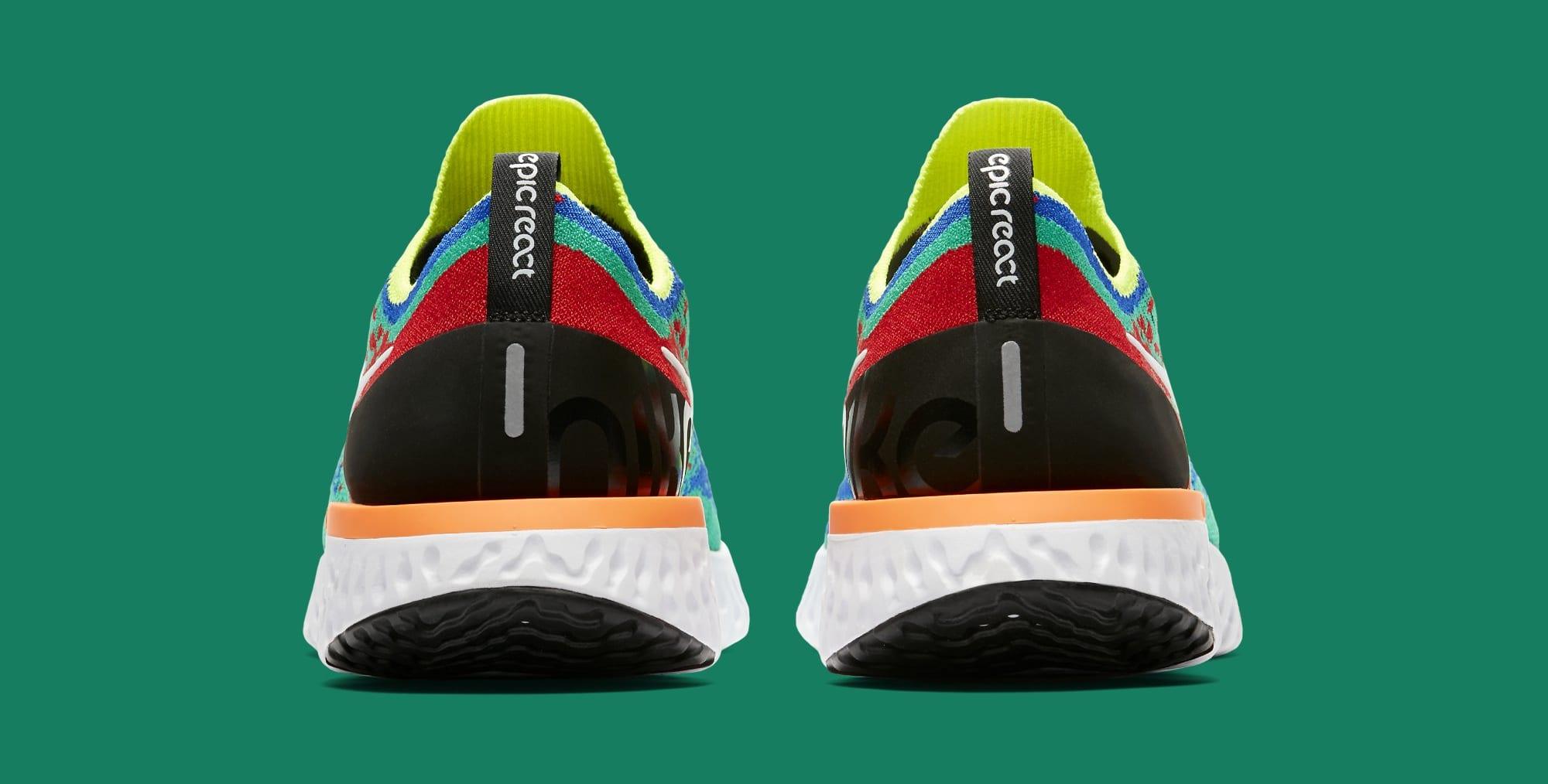 Nike Epic React Flyknit AT0054-700 (Heel)