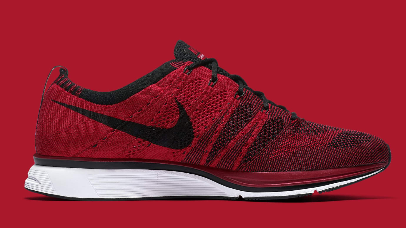 d126bcb4c0604 Nike Flyknit Trainer University Red Release Date Summer 2018 AH8396 ...