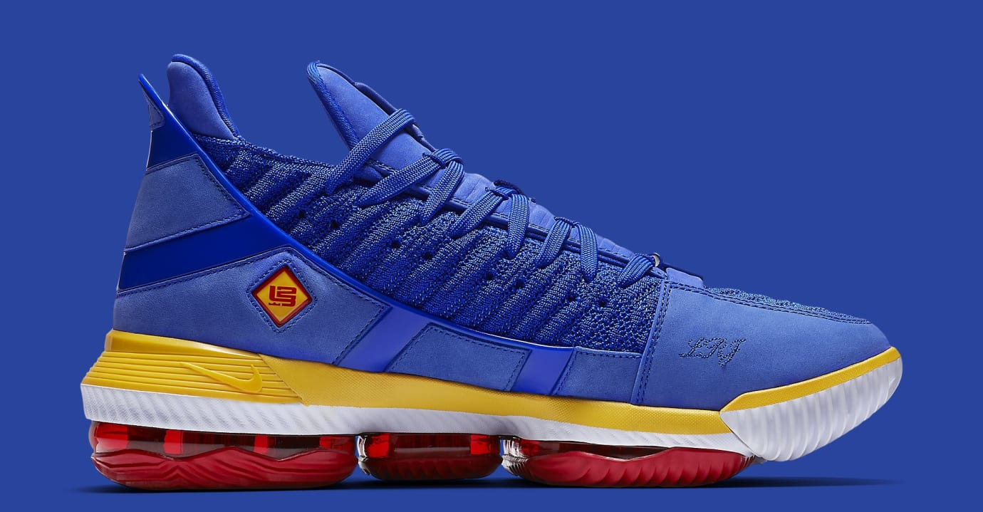 Nike LeBron 16 'SuperBron Blue' CD2451-400 Medial