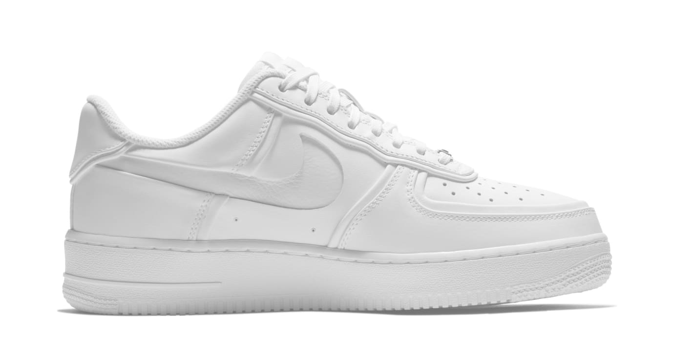 John Elliott x Nike Air Force 1 Low AO9291-100 (Medial)