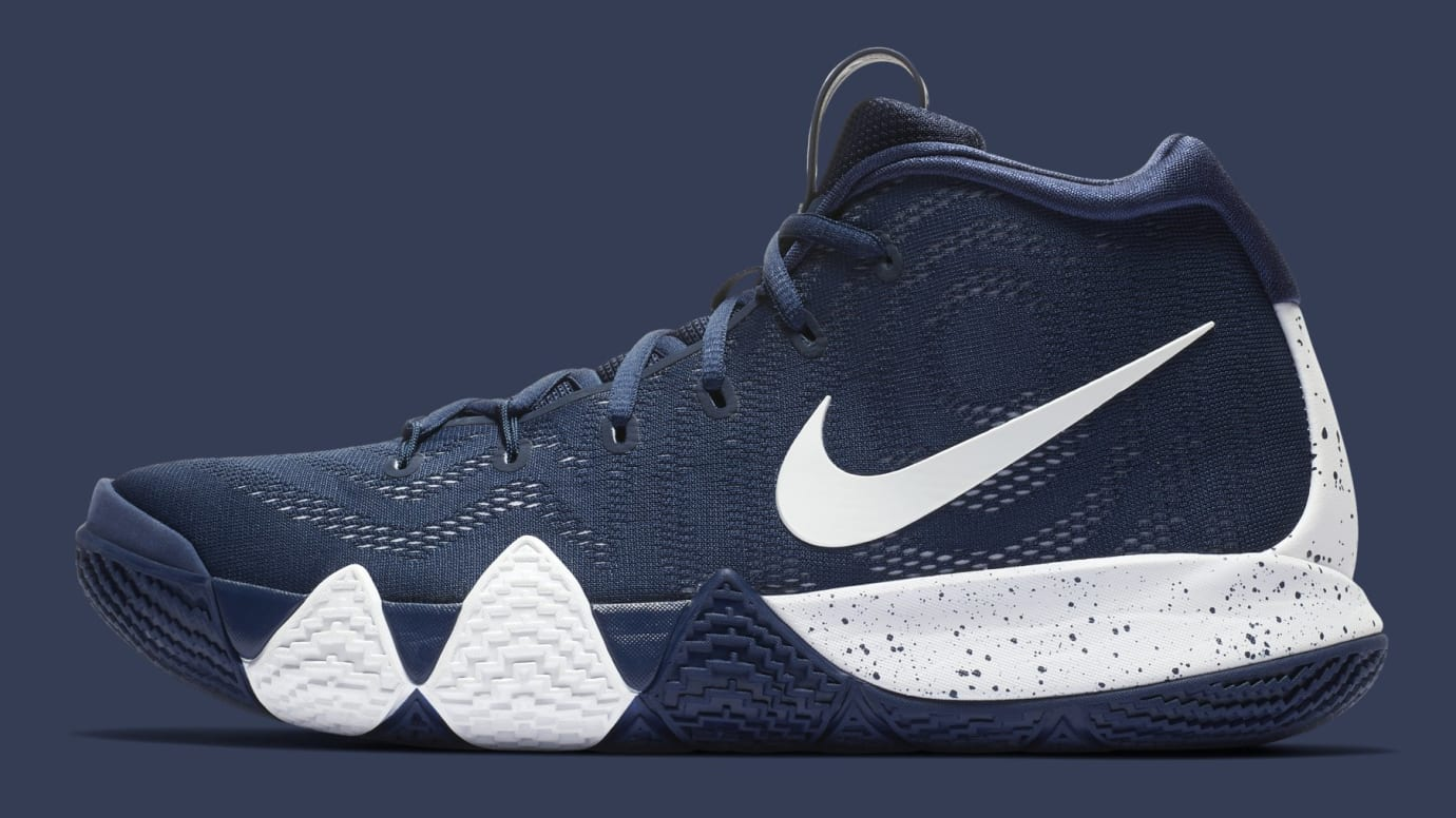 new product 95384 2f67c Nike Kyrie 4 Team Bank Release Date | Sole Collector