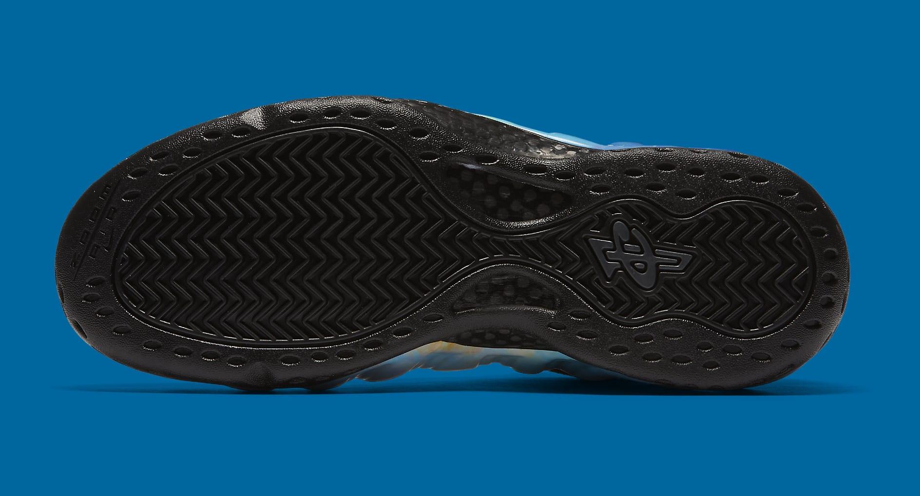 Nike Air Foamposite One 'Galaxy' 2 AR3771-800 (Bottom)