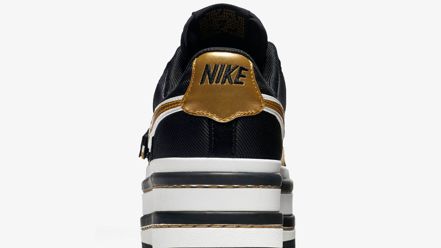 0619f9da5689 Image via Nike nike vandal 2k  black gold