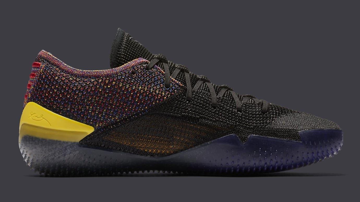 9099eff81955 Image via Nike Nike Kobe A.D. NXT 360 Black Multicolor Release Date  AQ1087-002 Medial