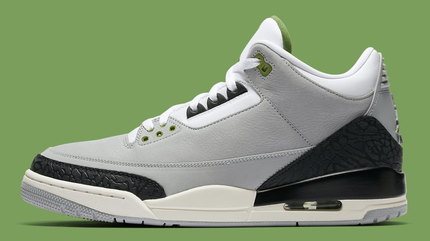 competitive price 6f742 e531a Air Jordan 3 III Chlorophyll Release Date 136064-006 | Sole ...