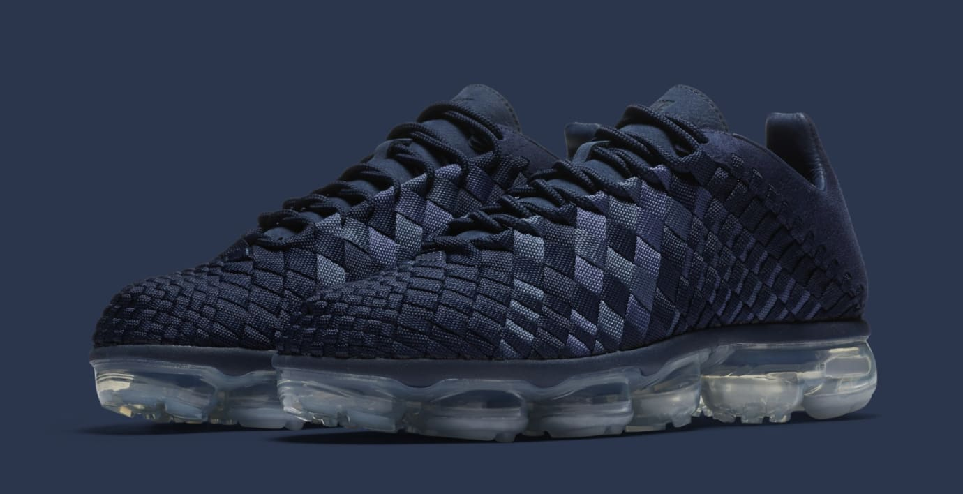 24bf7576aa986 Nike Air VaporMax Inneva  Midnight Navy Metallic Silver  AO2447-400 (Pair