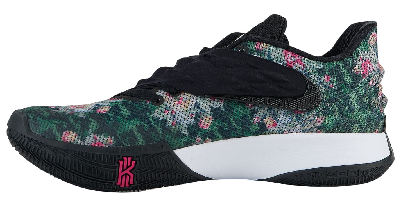 8dceb0e2f2f Nike Kyrie Low Floral Release Date AO8979-002 Medial