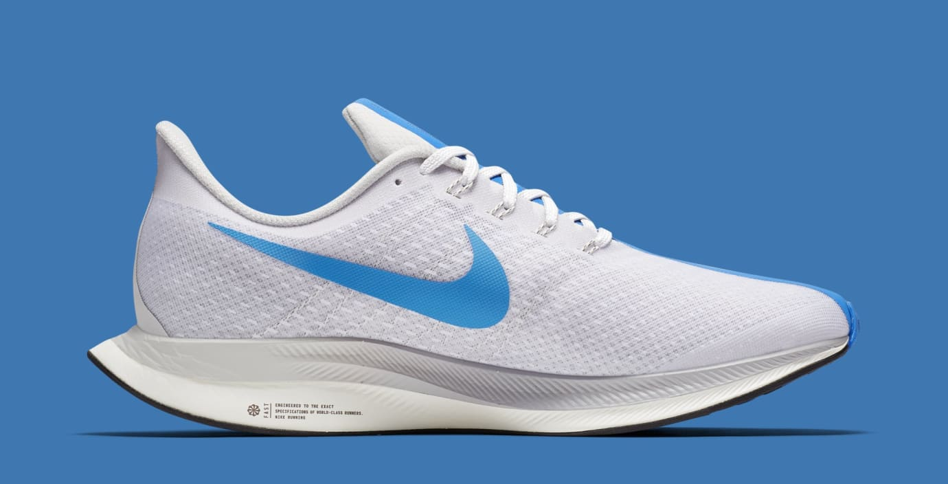 detailed look 42c39 e253b Nike Zoom Pegasus Turbo 'White/Blue Hero/Vast Grey/Blue Void ...