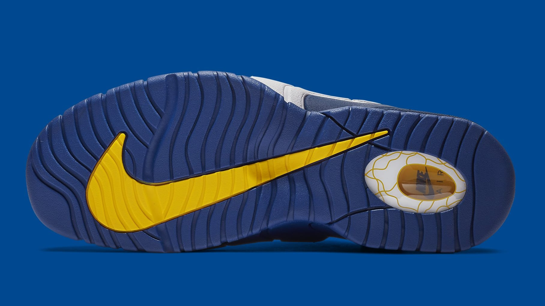 Nike Air Max Penny 1 Warriors Release Date 685153-401 Sole