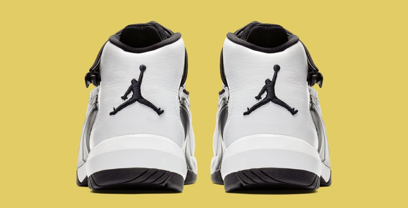 Jordan Jumpman Swift 'White/Black/Tour Yellow' AT2555-100 (Heel)