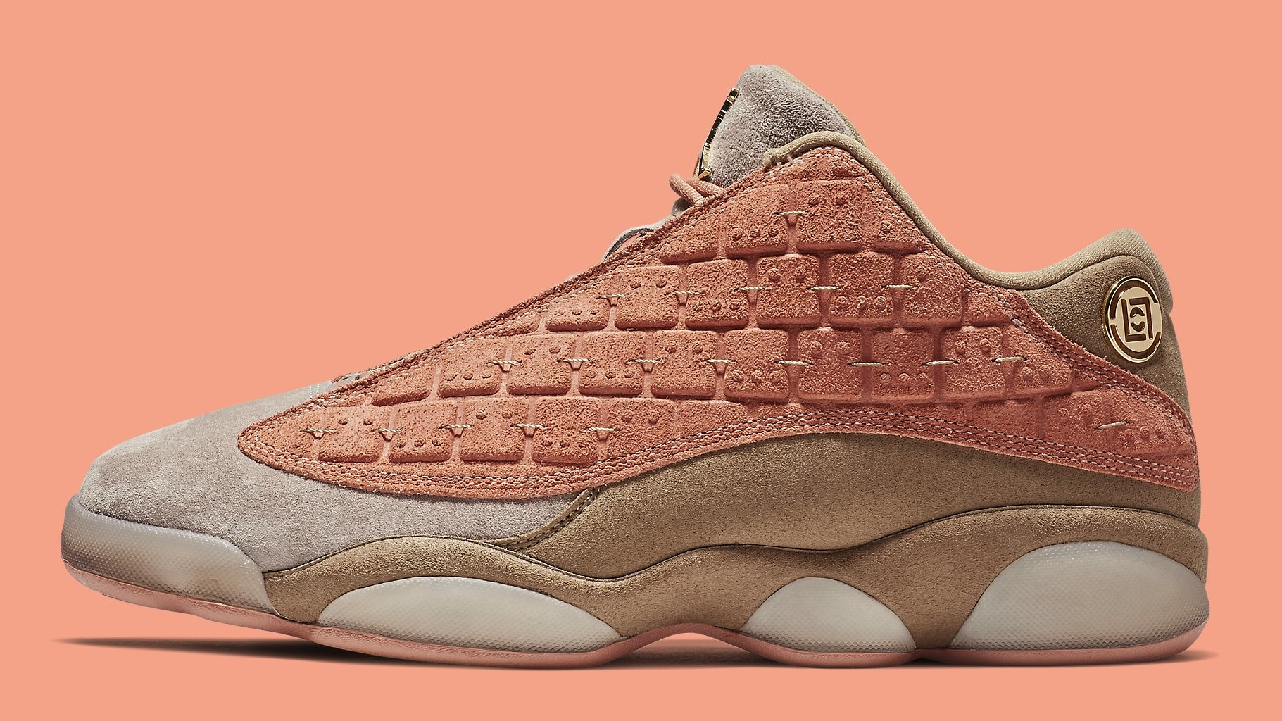 Air Jordan 13 XIII Low CLOT Release Date AT3102-200 Profile