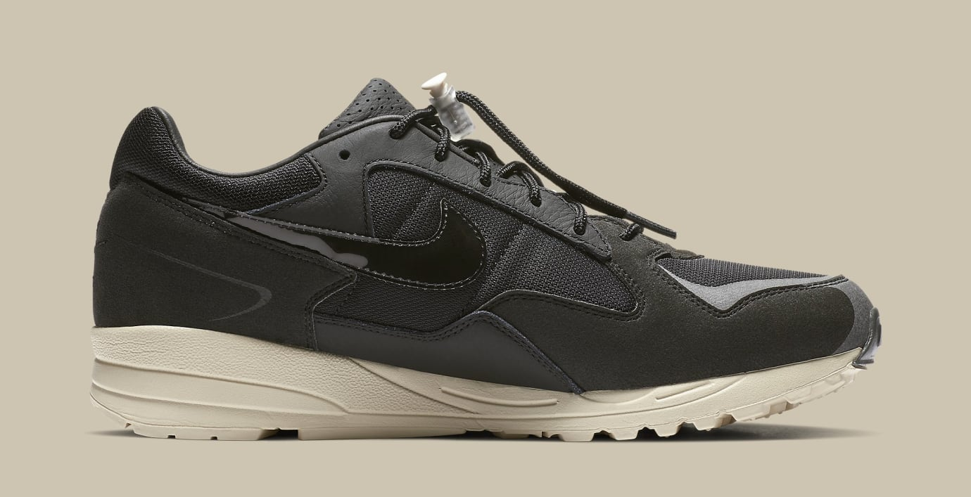 Fear of God x Nike Air Skylon 2 'Black/Sail-Fossil' BQ2752-001 (Medial)