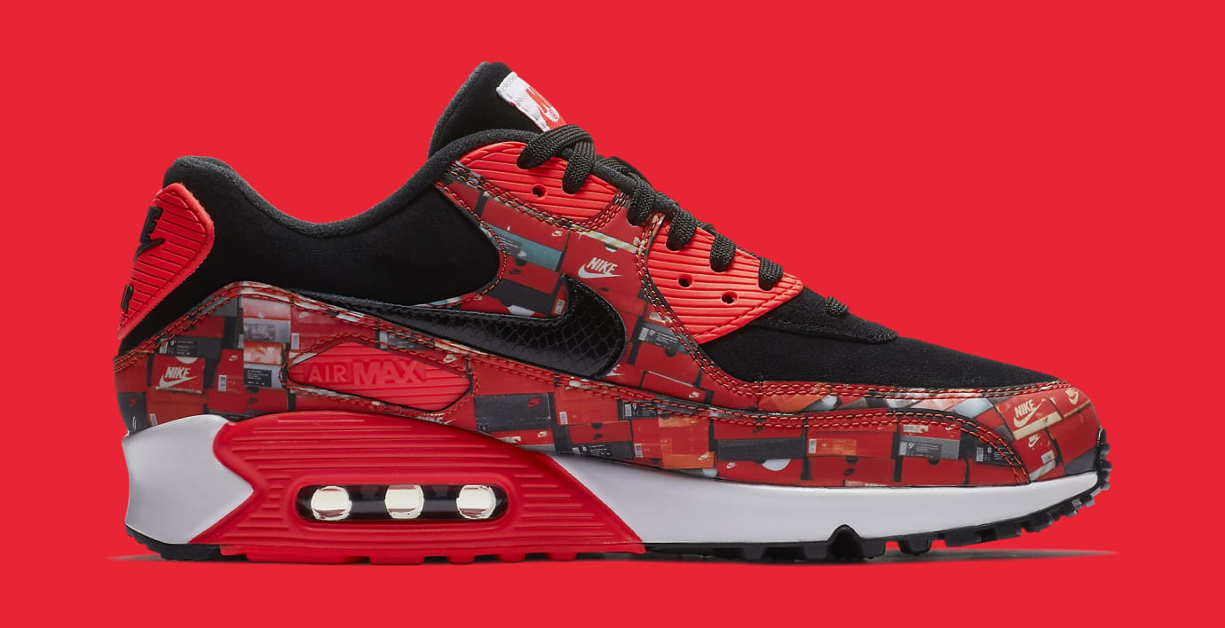 02d27665be Image via Nike Atmos x Nike Air Max 90 'Infrared/We Love Nike' AQ0926-001