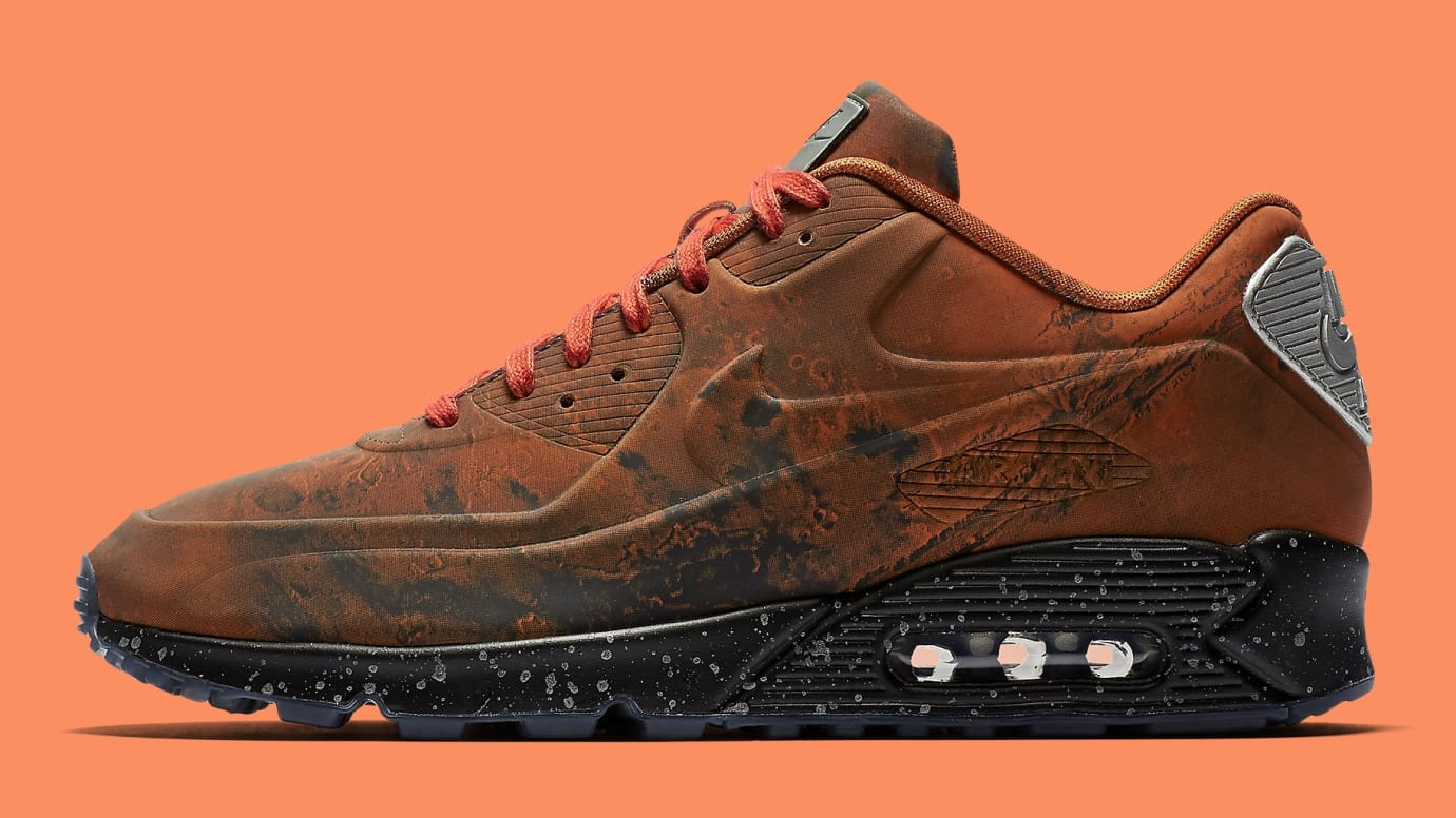 factory authentic d7613 714ef Nike Air Max 90 QS 'Mars Landing' Mars Stone/Magma Orange Release ...