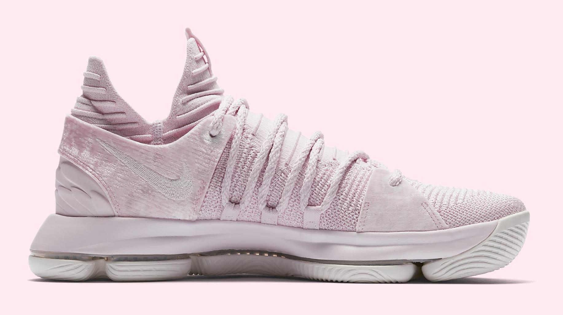 Nike KD 10 'Aunt Pearl' AQ4110-600 (Medial)