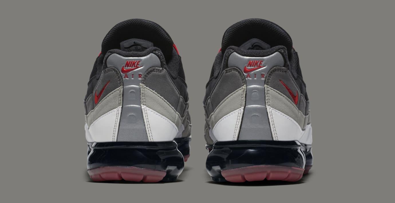 Nike Air VaporMax 95 'Hot Red' AJ7292-101 (Heel)