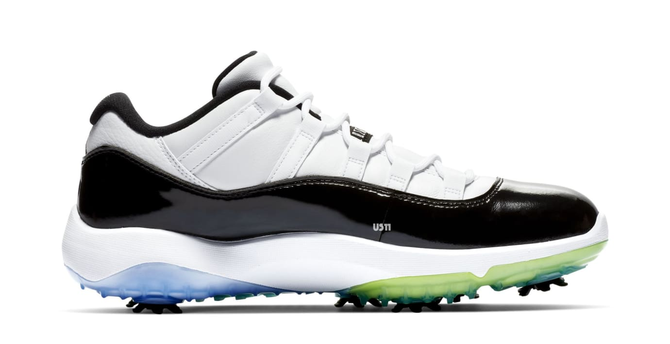 Air Jordan 11 Golf 'Concord' (Medial)