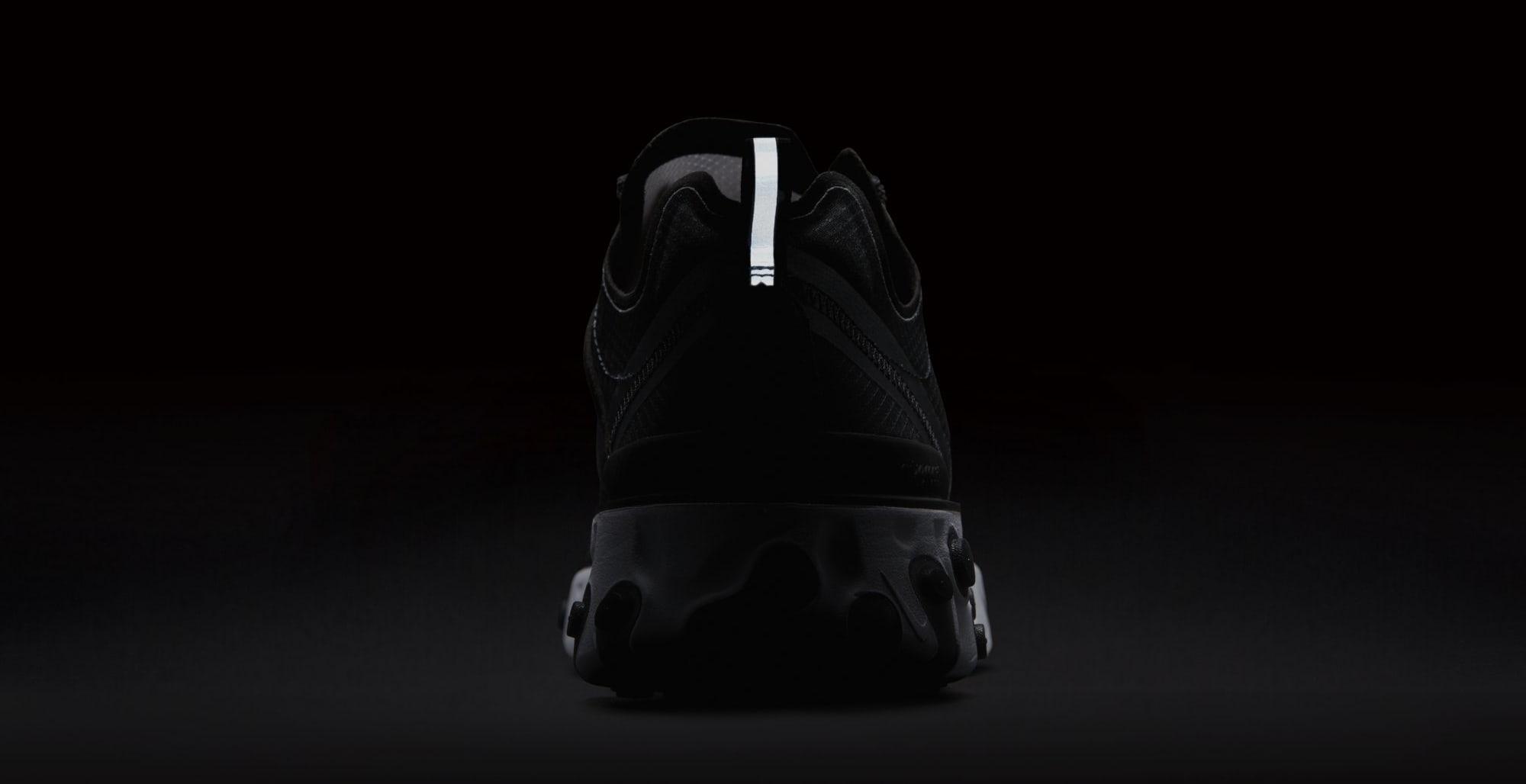 Nike React Element 87 'Anthracite/Black/White' AQ1090-001 (Reflective)