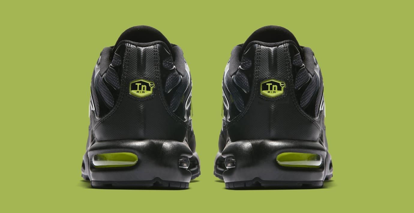 Nike Air Max Plus 'Black/Volt Glow-Wolf Grey' AJ2013-001 (Heel)