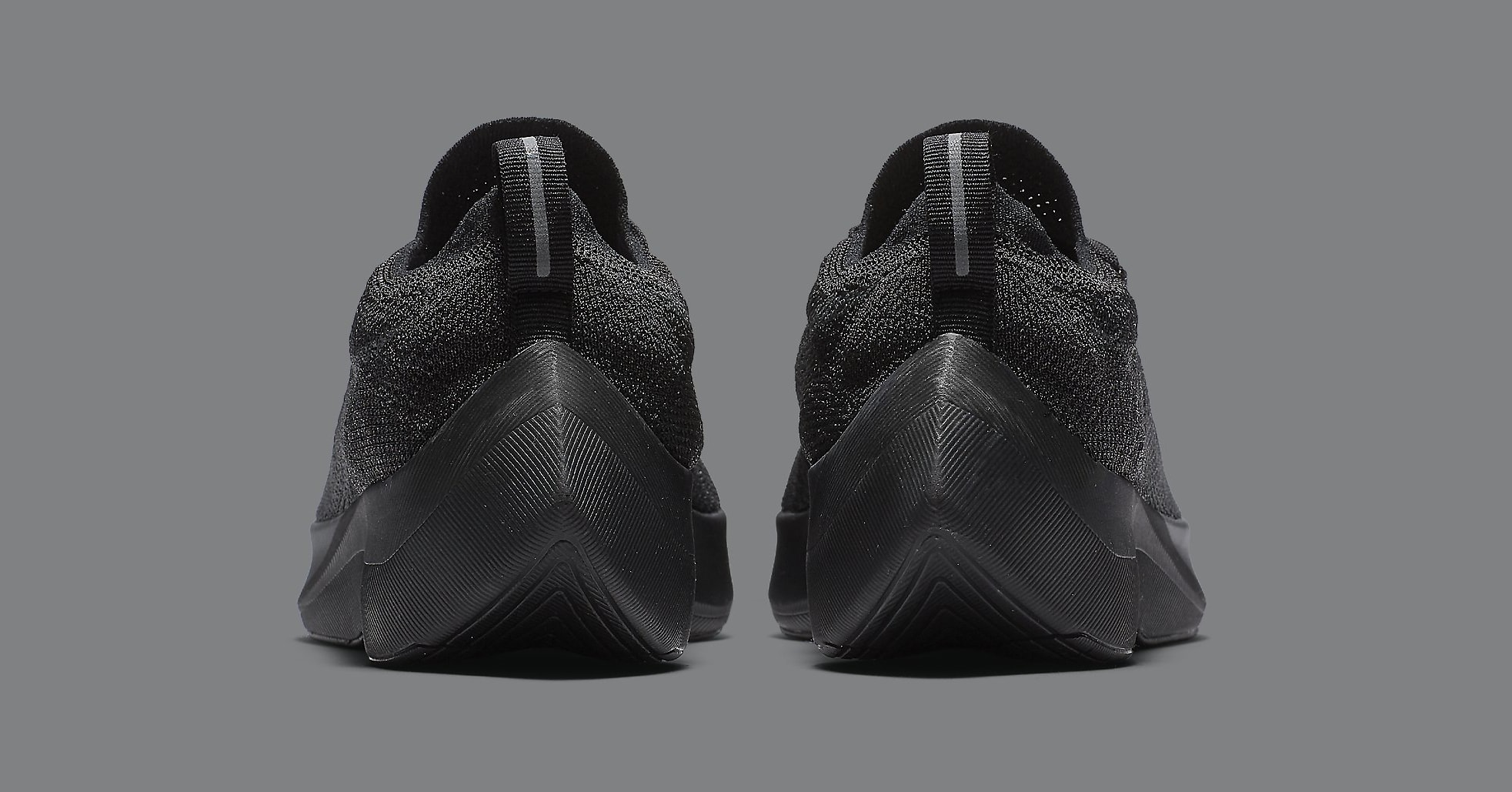 Nike Vapor Street Flyknit 'Black' AQ1763-001 (Heel)