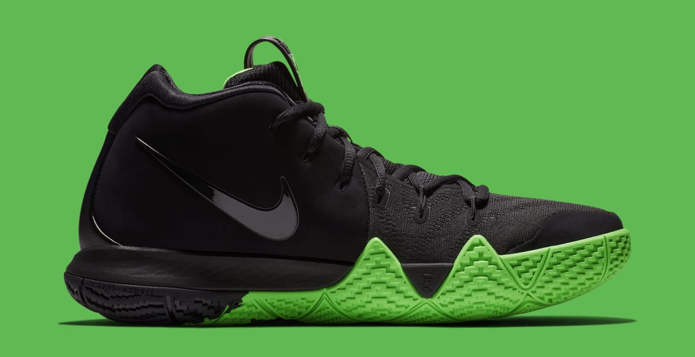 new product 70924 a8937 Nike Kyrie 4 Black Rage Green Halloween Release Date 943806 ...