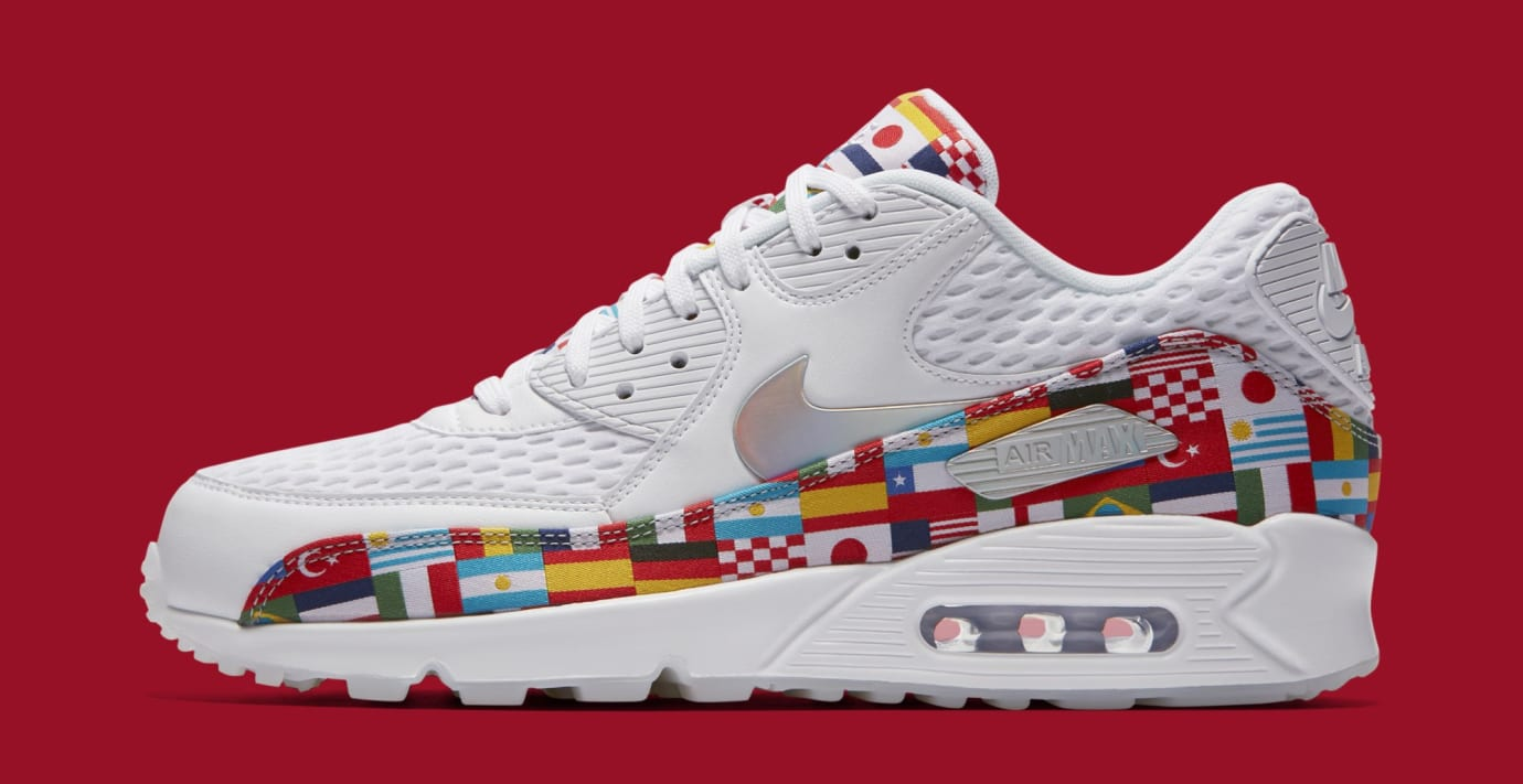 Nike Air Max 90 'One World' AO5119-100 (Lateral)