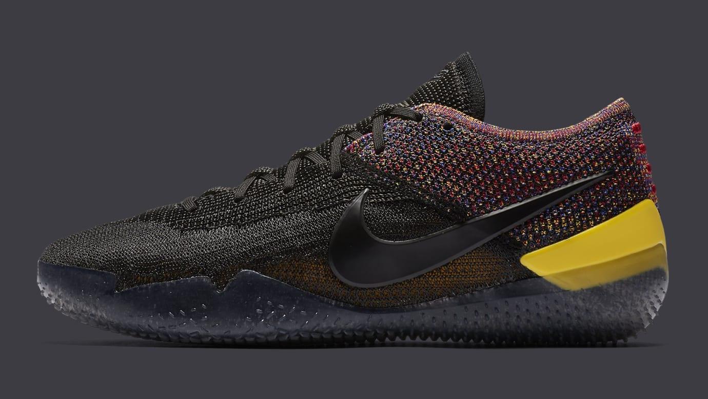 61459e0410eb Nike Kobe A.D. NXT 360 Black Multicolor Release Date AQ1087-002 Profile