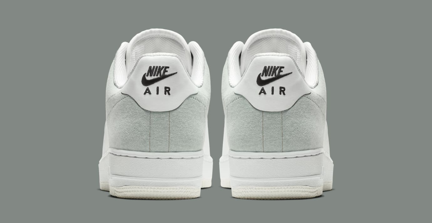 A-Cold-Wall* x Nike Air Force 1 Low 'White/Light Grey-Black' BQ6924-100 (Heel)