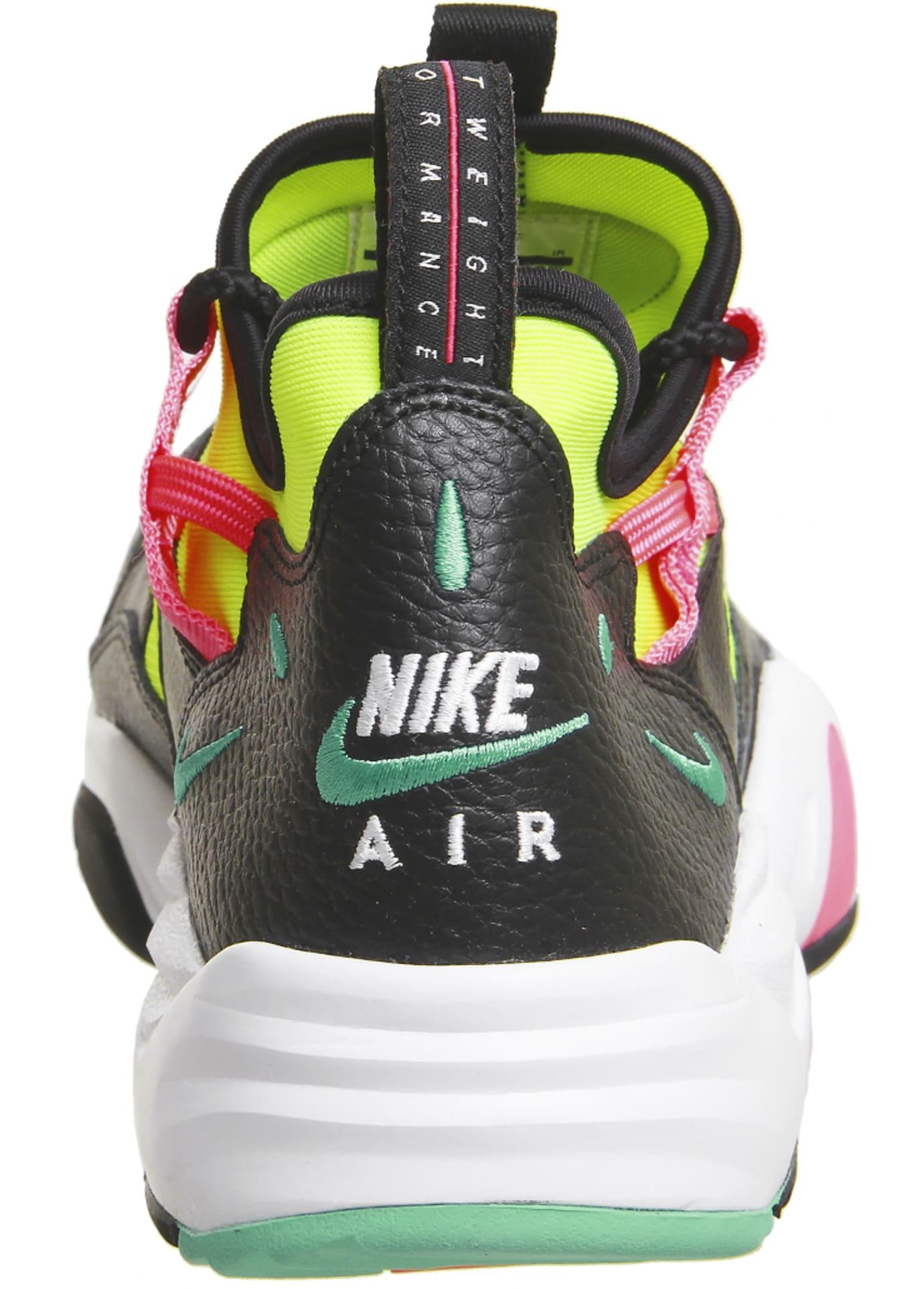 Nike Air Scream LWP 'Black/Menta/Racer Pink' (Heel)