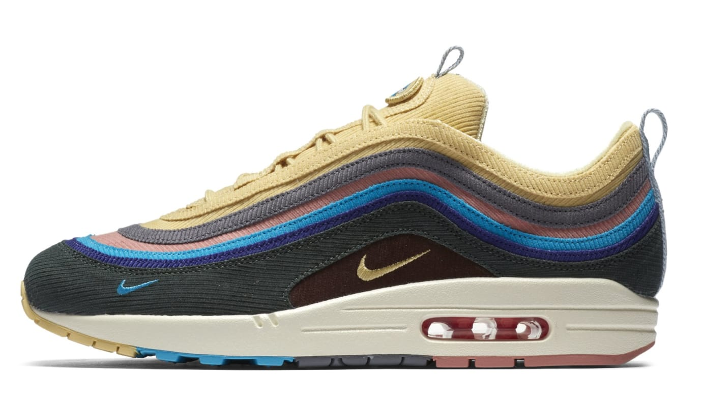 Sean Wotherspoon x Nike Air Max 1/97 AJ4219-200 (Lateral)