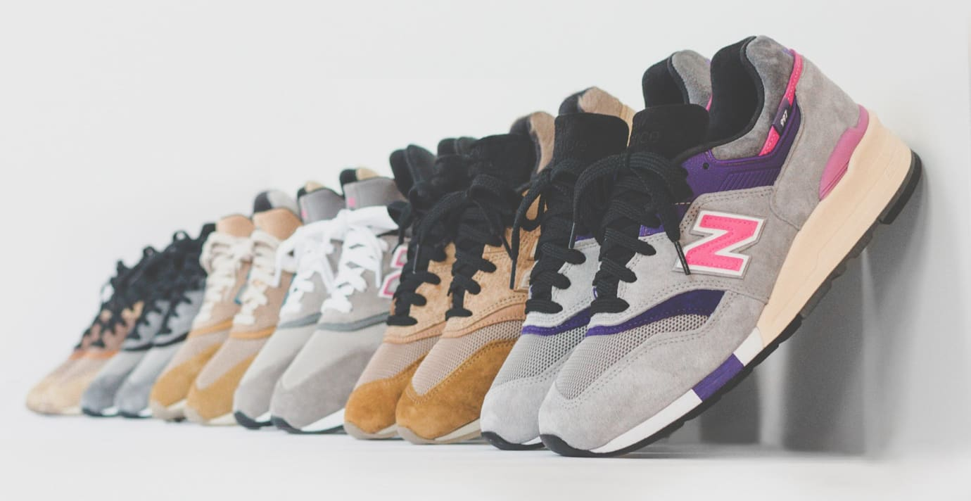 Kith x New Balance x United Arrows x Nonnative Collection
