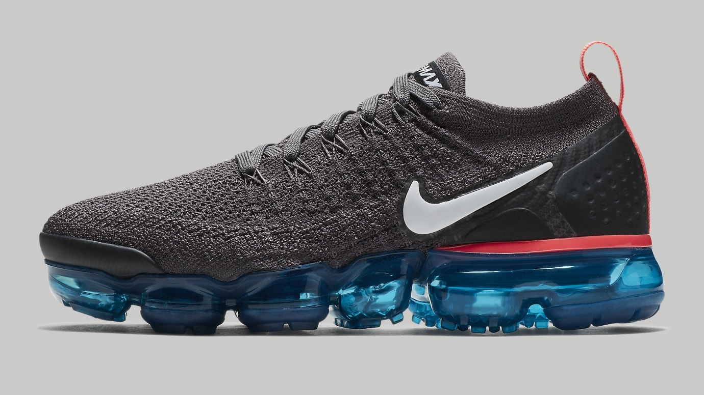 777f924d32 Nike Air VaporMax 2 Flyknit 'Thunder Grey' Release Date Aug. 2018 ...