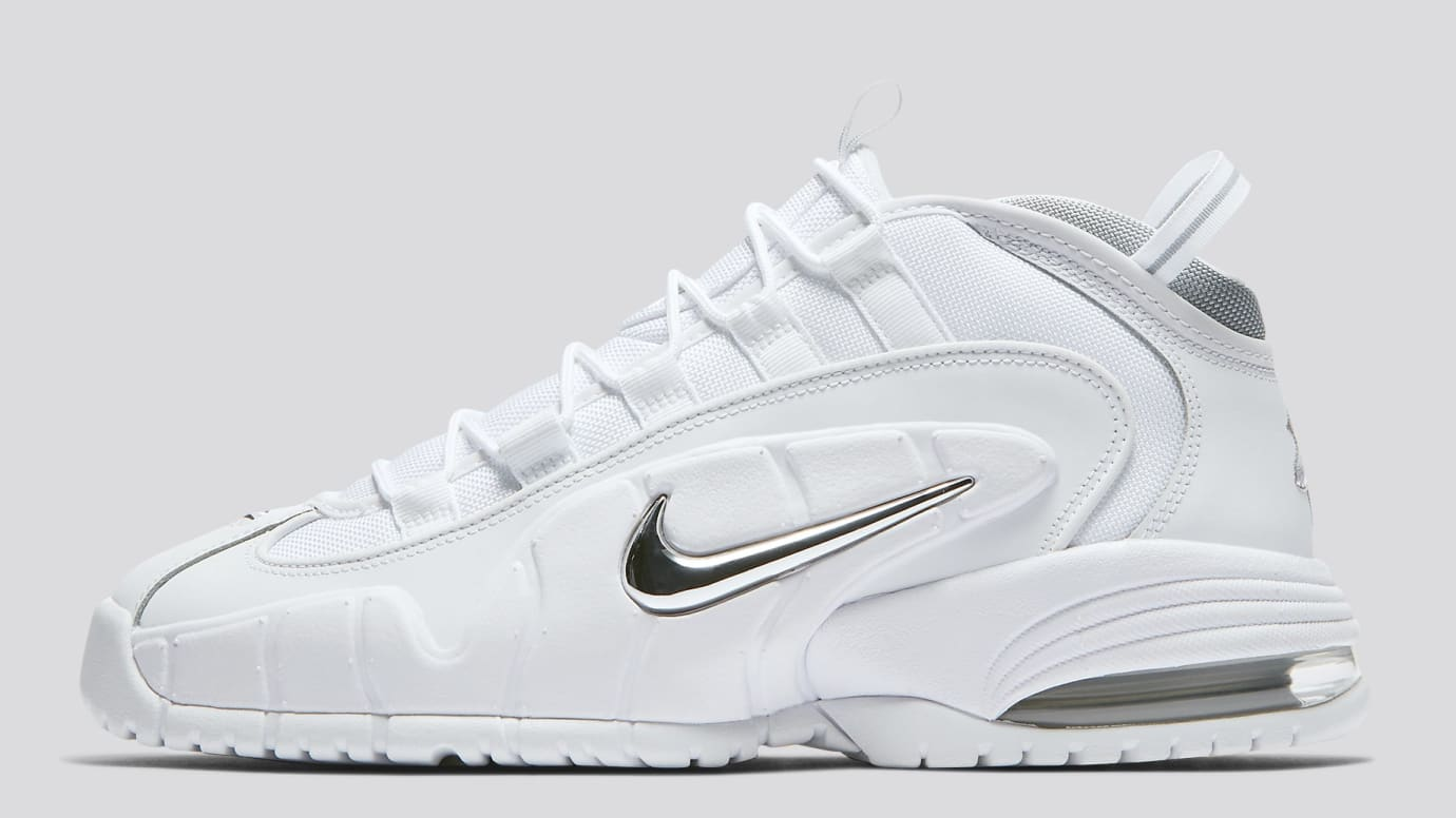 da143899d4 Nike Air Max Penny 1 'White Metallic' Release Date 685153-100 | Sole ...