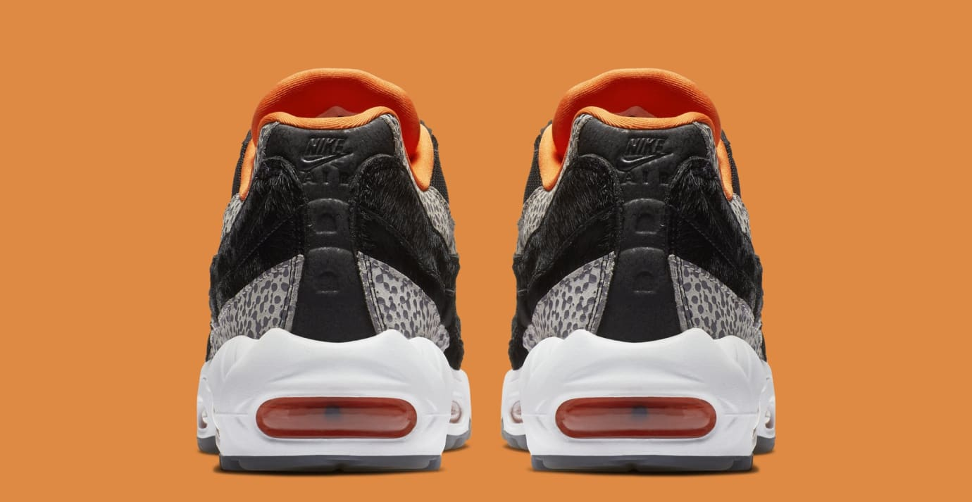 b3d6f7927939 Nike Air Max 95  Safari  Black Granite Safety Orange AV7014-002 ...