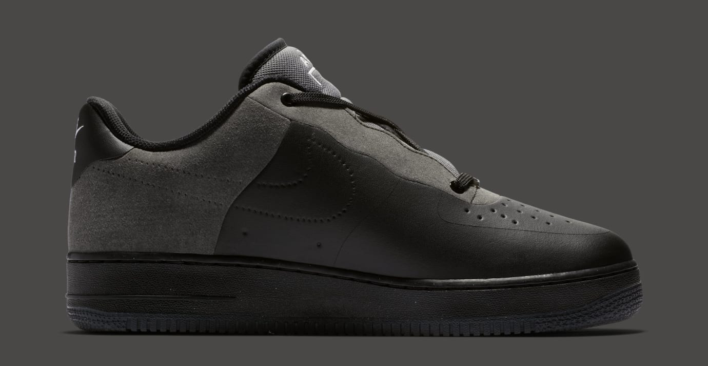 A-Cold-Wall* x Nike Air Force 1 Low 'Black/Dark Grey-White' BQ6924-001 (Medial)