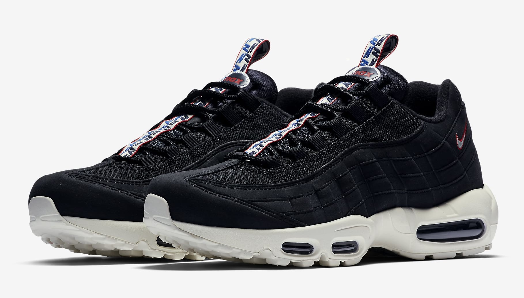 lowest price 52c6f b6f10 ... Image via Nike Nike Air Max 95 Pull Tab AJ1844-002 (Pair) ...