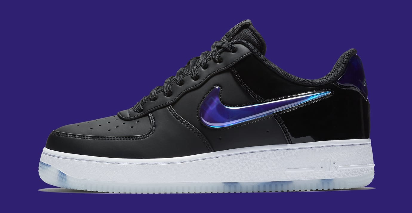 Playstation x Nike Air Force 1 Low BQ3634-001 (Lateral)