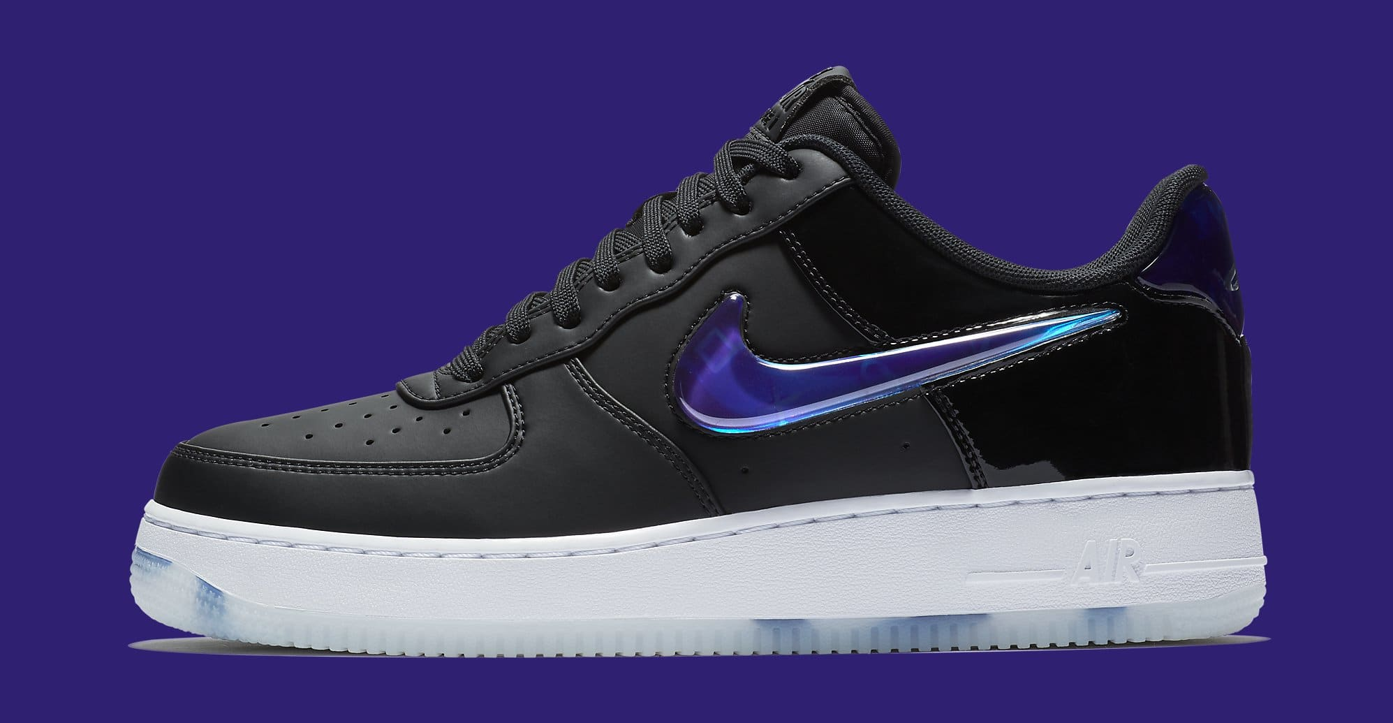 Playstation X Nike Air Force 1 Low Bq3634 001 Lateral