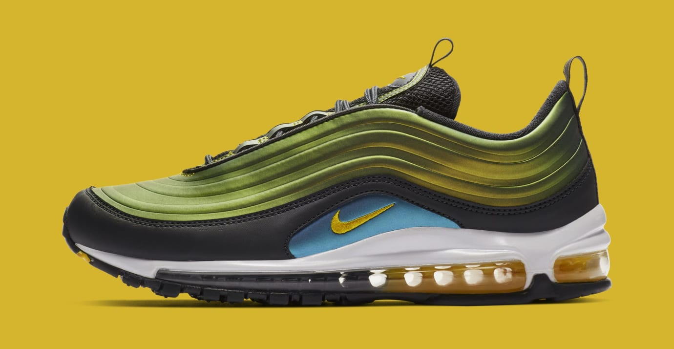 Nike Air Max 97 'Anthracite/Amarillo-Summit White' AV1165-002 (Lateral)