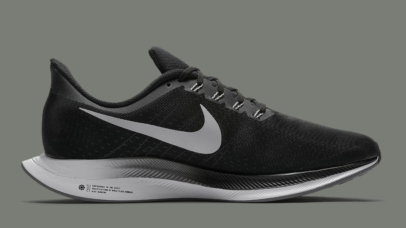 best loved 638e4 ca9c2 Nike Zoom Pegasus Turbo Black Metallic Silver Release Date ...