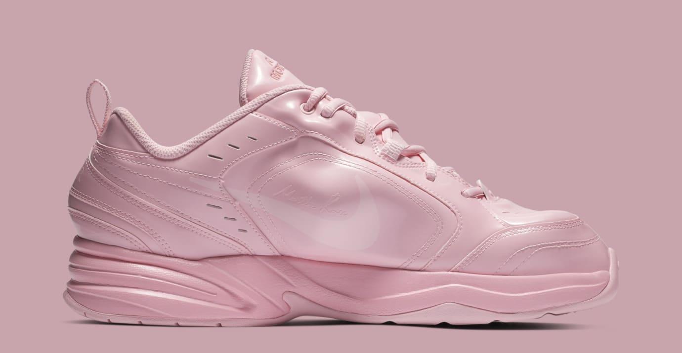 7e6f5888687c Image via Nike Martine Rose x Nike Air Monarch 4  Medium Soft Pink  AT3147- 600 (