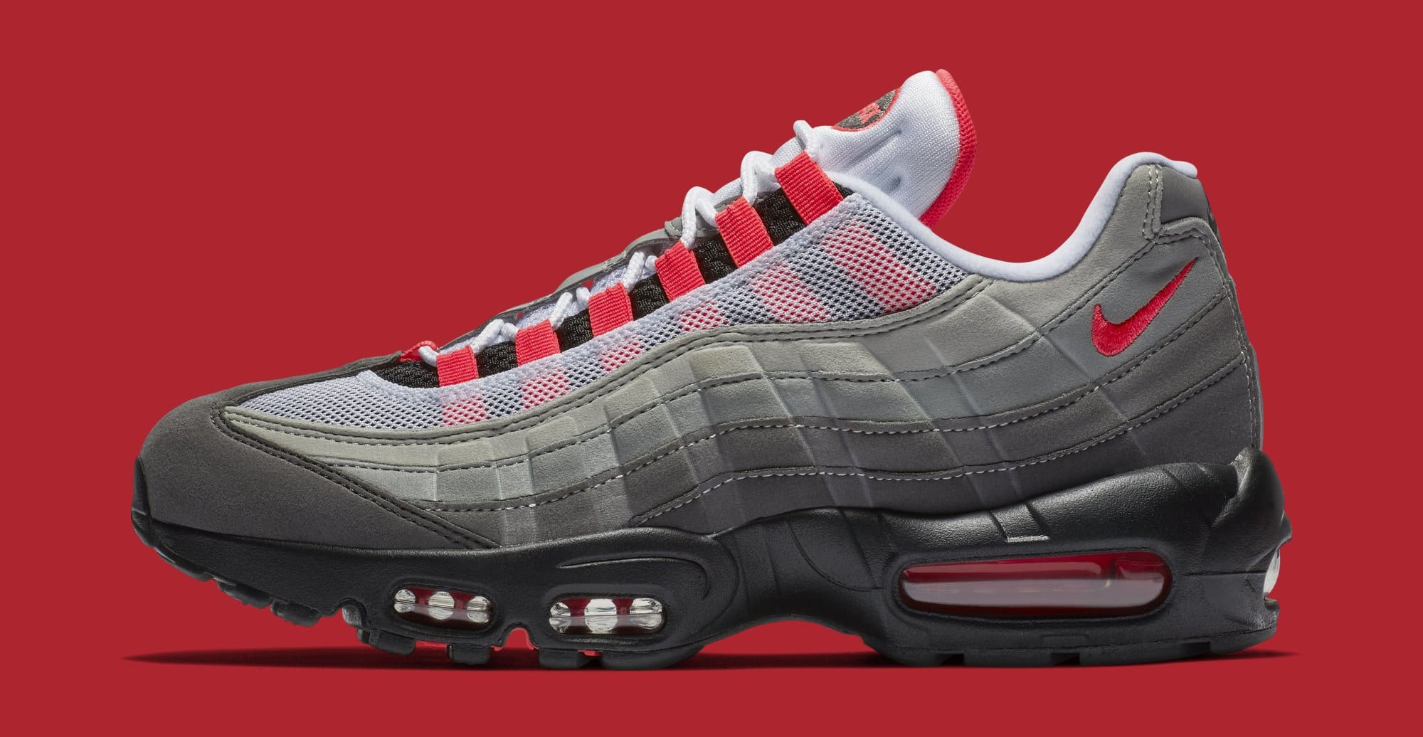 Nike Air Max 95 'White/Solar Red-Granite-Dust' AT2865-100 (Lateral)