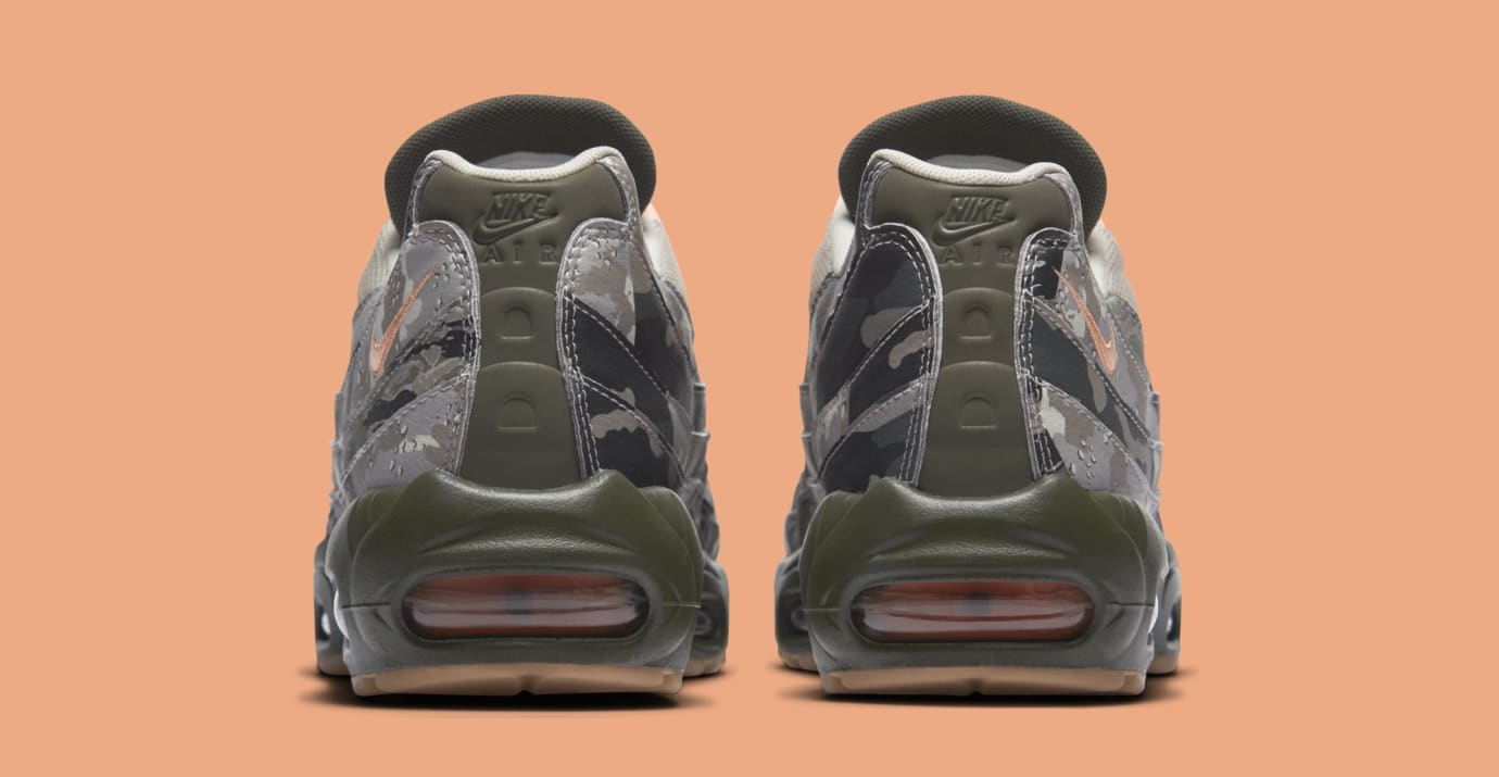 Nike Air Max 95 'Desert Camo' AQ6303-001 (Heel)