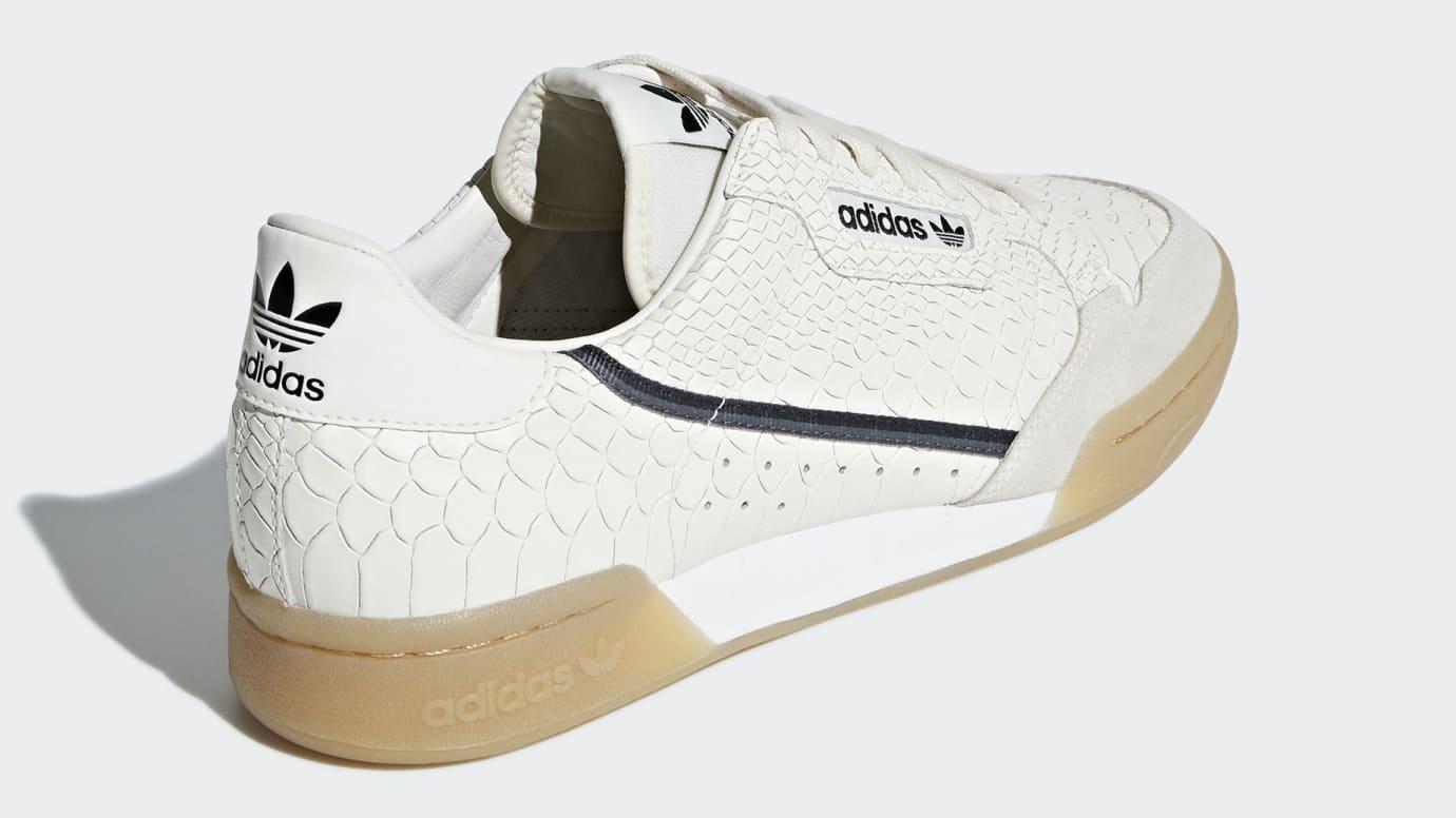 buy popular a9e1e 34c2b Image via Adidas adidas-continental-80-snakeskin-d96659-heel