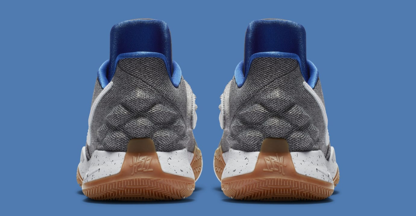 6c010b930dba Image via Nike Nike Kyrie 4 Low  Uncle Drew  AO8979-005 (Heel)