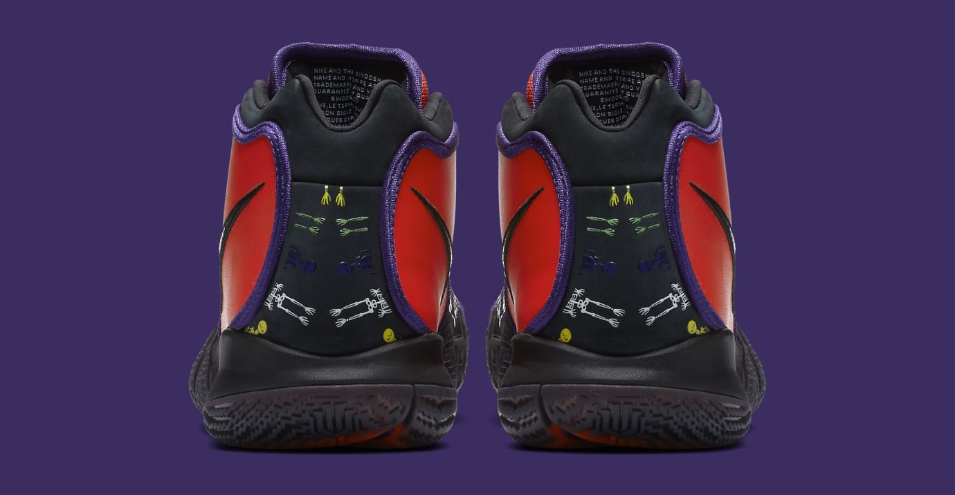 san francisco e1813 05291 Image via Nike Nike Kyrie 4  Day of the Dead  CI0278-800 (Heel)