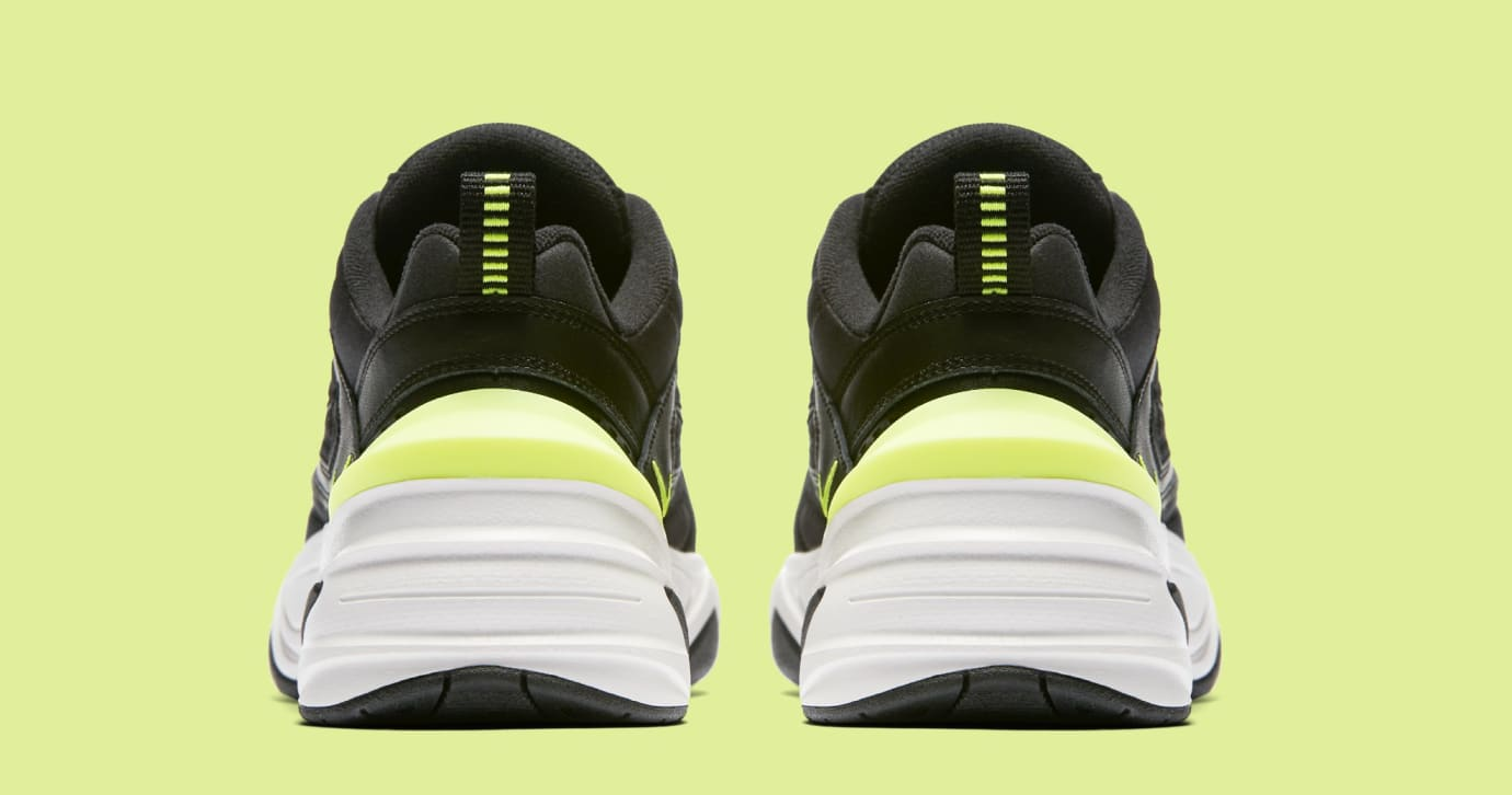 c1a0b996238 Nike M2K Tekno WMNS 'Black/Black/Phantom/Volt' AO3108-002 Release ...
